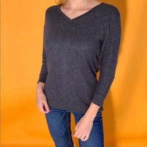 Express zip back sweater